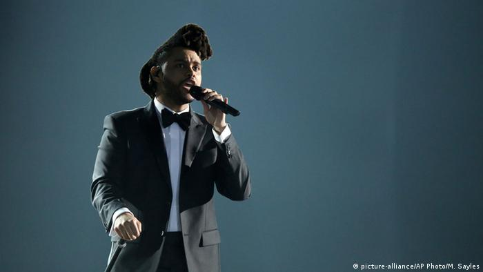 The Weeknd singt beim Grammy-Gala