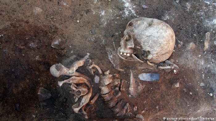 Археологи представили свои находки: скелет шестимесячного ребенка, умершего от недоедания 6400 лет назад