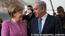 Deutschland Israel Netanjahu bei Merkel
