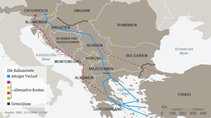 Neue Dusche Planen : Bericht: Schlepper planen neue Fl?chtlingsrouten Aktuell Europa