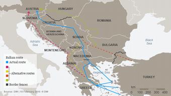 Η Βαλκανική Οδός και οι παρακαμπτήριές της