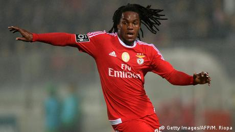 Fußball Benfica Lissabon Renato Sanches (Getty Images/AFP/M. Riopa)
