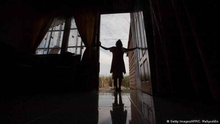 A six-year old victim of sexual abuse
