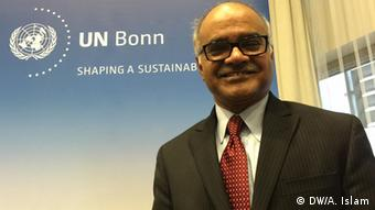 Deutschland Dr. Selim Jahan Interview UN Campus in Bonn (DW/A. Islam)