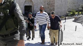 Israel Inhaftnahme von Journalist William Booth in Jerusalem