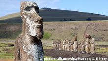 Chile Osterinsel - Statuen