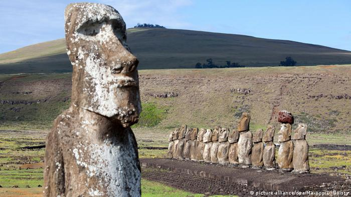 Estátuas da Ilha de Páscoa