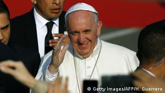 Mexiko Besuch des Papstes