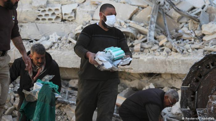 Больница Врачей без границ разрушена в результате авиаудара в Сирии