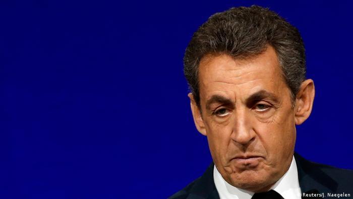 Frankreich Ex-Präsident Nicolas Sarkozy