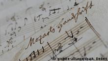 Mozarts Handschrift