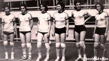 Iran Frauennationalmannschaft Volleyball Team vor der Revolution (1979)