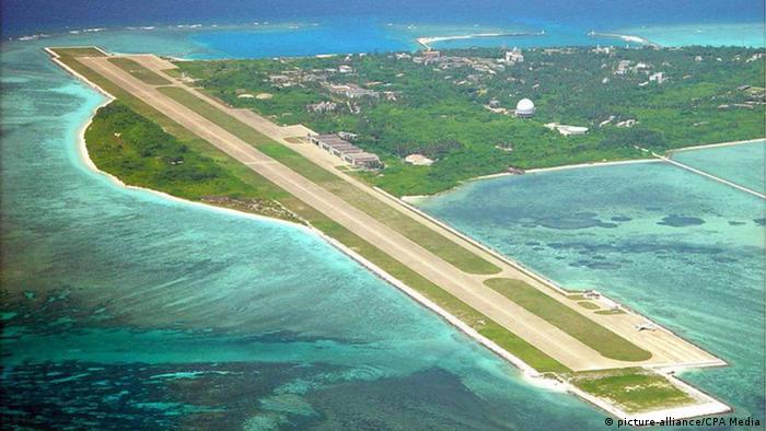 Südchinesisches Meer Woody Island