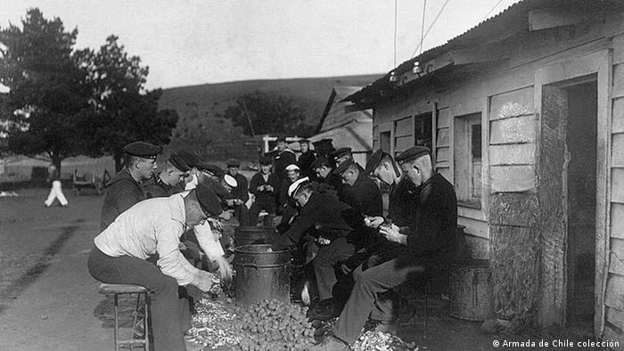 SMS Dresden Crew Kartoffel-Zeit