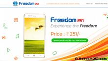 Screenshot freedom251.com