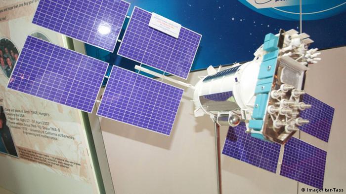 Модель спутника ГЛОНАСС