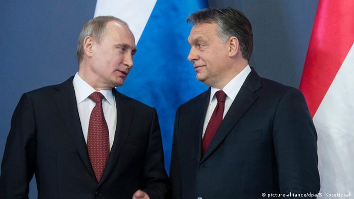 Vladimir Putin i Viktor Orban
