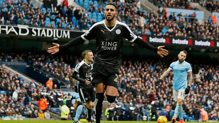 Großbritannien Leicester City - Riyad Mahrez
