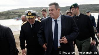 Grčki ministar obrane Kamenos