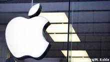 January 27, 2016 An Apple logo is seen at the Apple store in Munich, Germany, in this January 27, 2016 file photo. Apple Inc Chief Executive Tim Cook said his company opposed a demand from a U.S. judge to help the FBI break into an iPhone recovered from one of the San Bernardino shooters. Cook said that the demand threatened the security of Apple's customers and had implications far beyond the legal case at hand. REUTERS/Michaela Rehle/Files (c) Reuters/M. Rehle