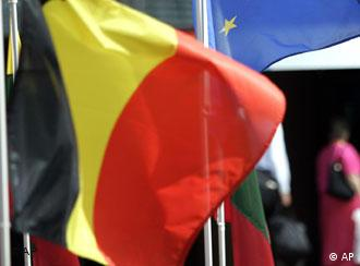Die belgische Flagge (Foto: AP)