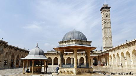 Syrien Aleppo Umayyaden-Moschee vor dem Krieg