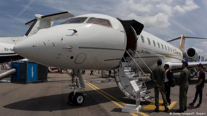 Самолет Bombardier Global.