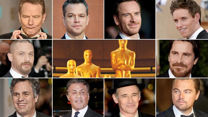 Oscar Nominierungen Bildcombo Beste Haupt- und Nebendarsteller 2016