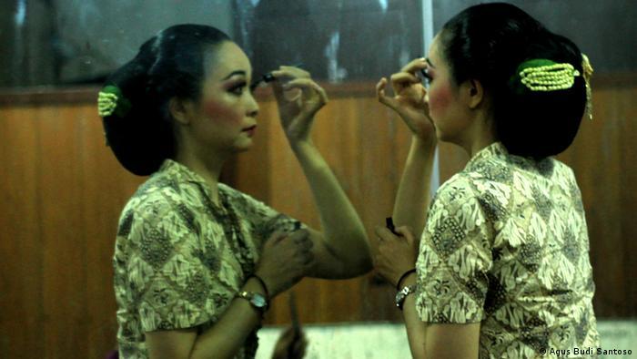 Kaori Okado, yang jadi model klip Akad Payung Teduh (foto: dw.com)