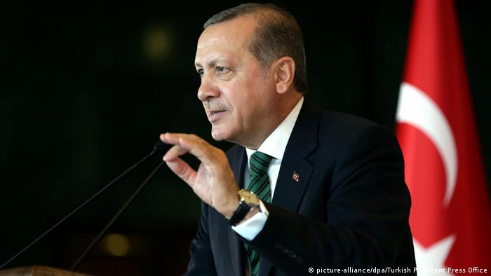 Türkei Anschlag in Ankara - Präsident Recep Erdogan