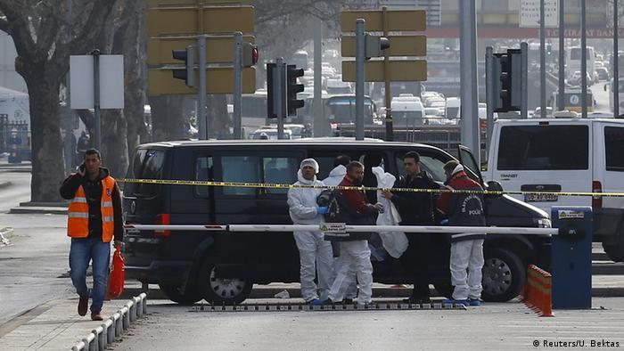 Türkei Ankara Untersuchung nach Anschlag