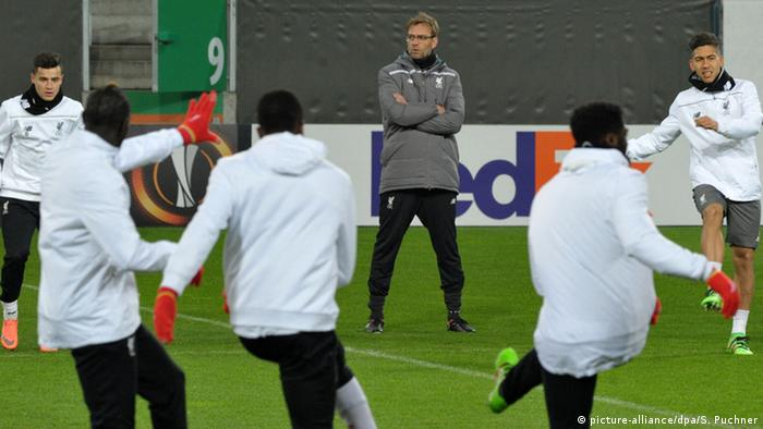 Europa-League: Abschlusstraining FC Liverpool (picture-alliance/dpa/S. Puchner)