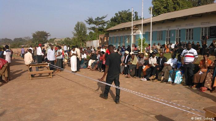 Uganda Wahl 2016