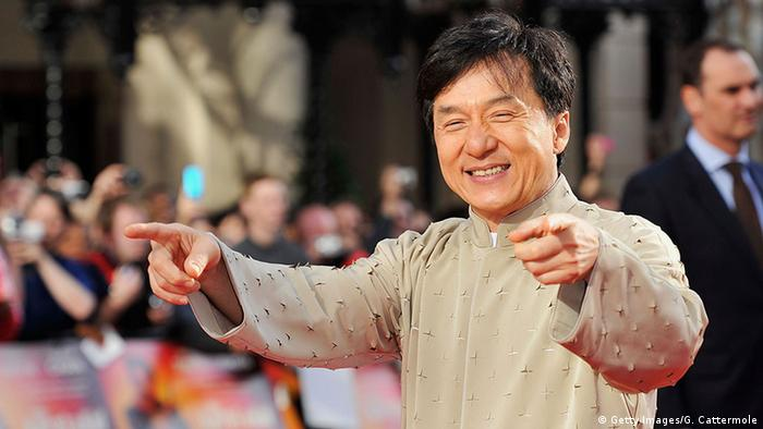 China Jackie Chan Schauspieler (Getty Images/G. Cattermole)