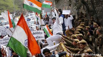 Indien Proteste JNU Campus Neu Delhi