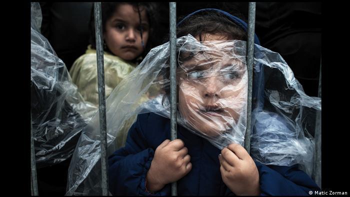 Матик Цорман. Дети беженцев в Прешево (Сербия)