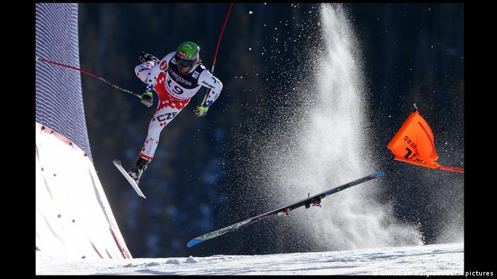 Кристиан Вальграм. На чемпионате мира по горнолыжному спорту