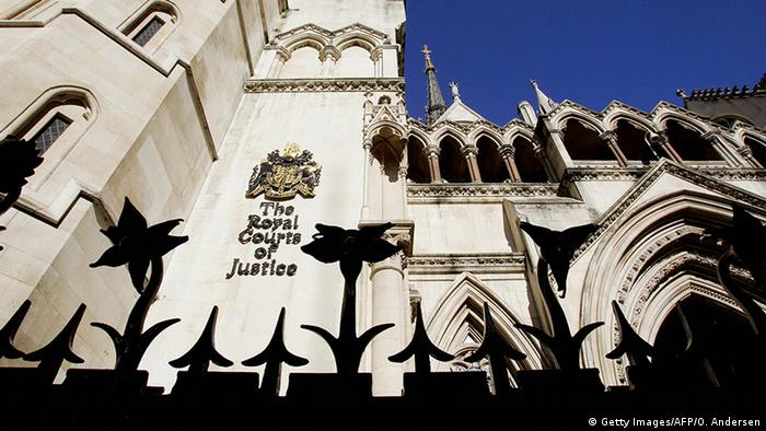 High Court of Justice in London Gebäude (Getty Images/AFP/O. Andersen)