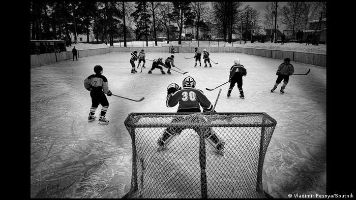 Владимир Песня. Хоккей в Ветлуге