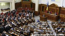 Symbolbild Parlament Kiew Ukraine (Getty Images/AFP/Y. Kirnichny)