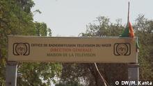 Niger Staatliches TV und Radio in Niamey (DW/M. Kanta)