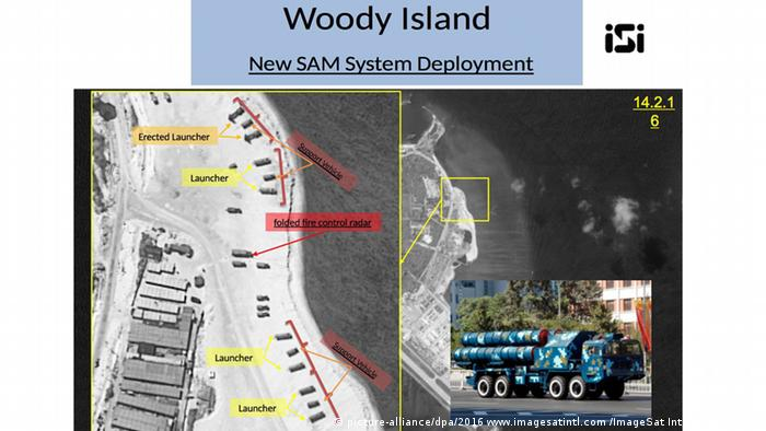 Satellitenbild Woody Island