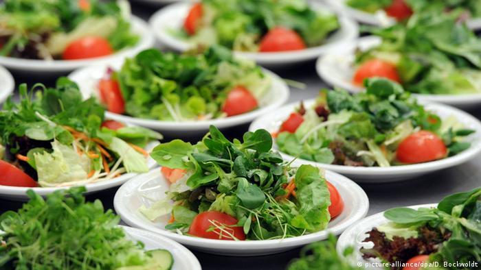Салат с пивной заправкой