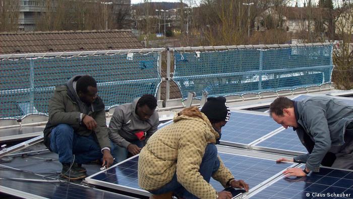 Asylunterkunft in Ravensburg Solaranlagen
