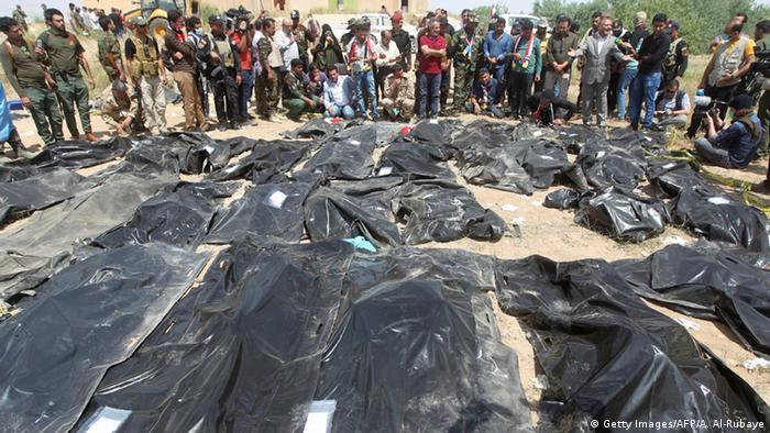 Massaker Tikrit Irak IS