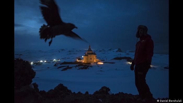 Даниэль Берегуляк. В Антарктиде