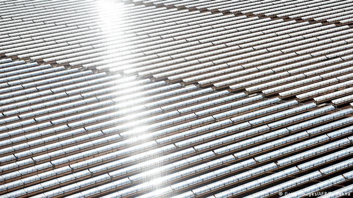 Marokko Solaranlage