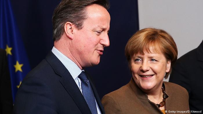 EU Gipfel Brüssel David Cameron Angela Merkel