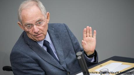 Wolfgang Schäuble (picture-alliance/dpa/M.Kappeler)