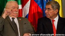 Venezuela Lech Walesa & Oscar Arias